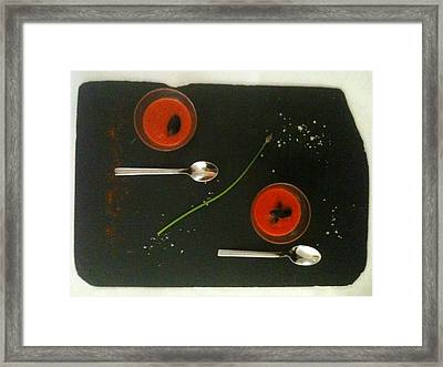 Simplicity Framed Print by Contemporary Art