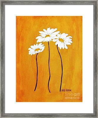 Simplicity L Framed Print