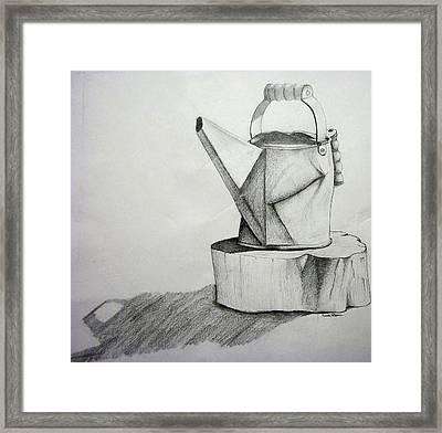 Simplicity Framed Print by Leeah Borner