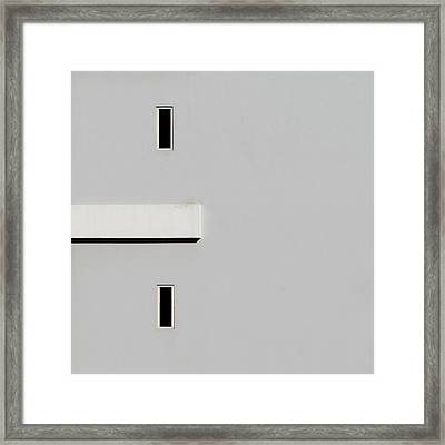 Simplism 2 Framed Print