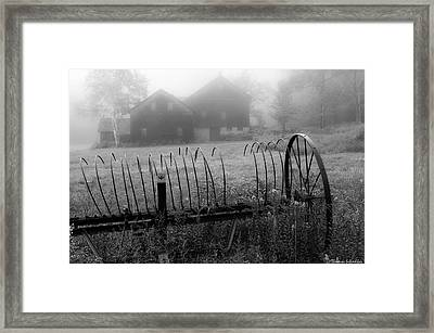 Simplistic Visions Framed Print by Thomas Schoeller