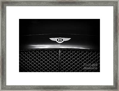 Simply Bentley Framed Print by Tim Gainey