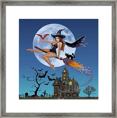 Simply Bewitch'n Framed Print