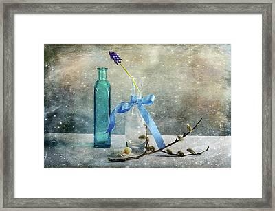 Simply Blue Framed Print by Randi Grace Nilsberg