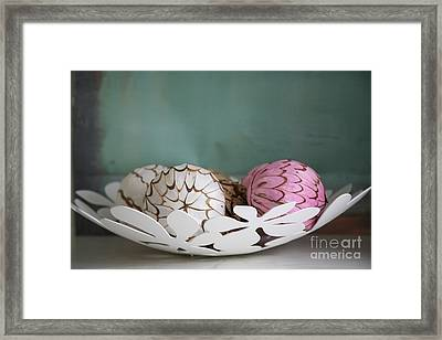 Simply Chic .. Framed Print