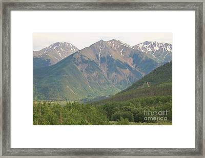 Simply Colorado 2 Framed Print by Tonya Hance