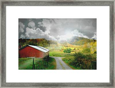 Simply Framed Print by Diana Angstadt