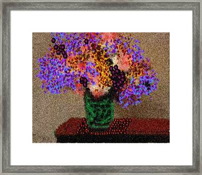 Simply Flowers Framed Print by Dr Loifer Vladimir