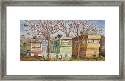Simply Living Framed Print by Julie Rumsey