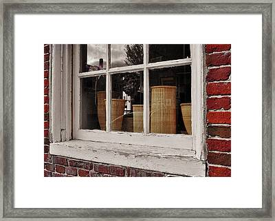 Simple Nantucket Framed Print by JAMART Photography