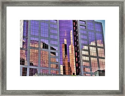 Simply Portland Framed Print