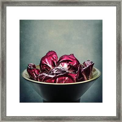 Simply Red Framed Print by Maggie Terlecki