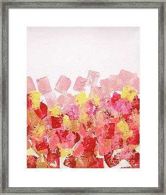 Simply Soft Framed Print