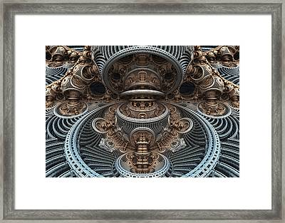 Simply Symmetrical Framed Print