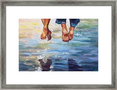 Simply Together Framed Print