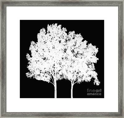 Simply Together Framed Print by Amanda Barcon