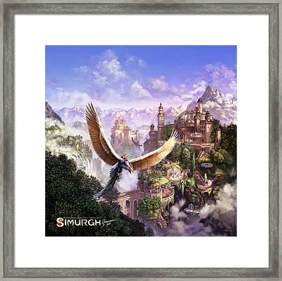 Simurgh Framed Print