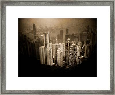 Sin City Framed Print by Loriental Photography