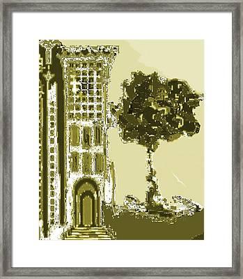 Sinagoga Framed Print by Emna Bonano