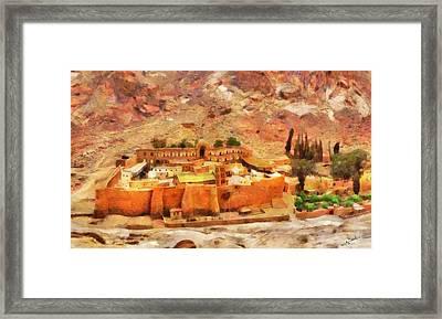 Sinai Monastery 2 Framed Print