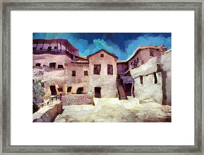 Sinai Monastery 4 Framed Print