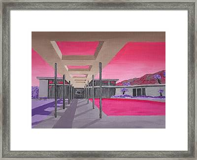 Sinatra House Two Framed Print by Randall Weidner