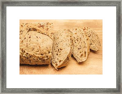 Since Sliced Bread Framed Print by Jorgo Photography - Wall Art Gallery