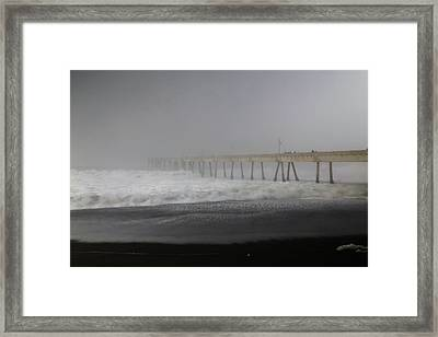 Framed Print featuring the photograph Since You Left  by Laurie Search
