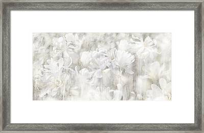 Sincere Apology Of The Whispering Magnolia Framed Print