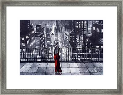 Sincity Framed Print