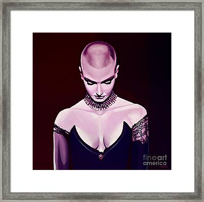 Sinead O'connor Framed Print