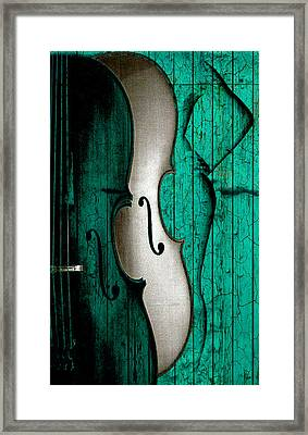 Sinful Violin Framed Print