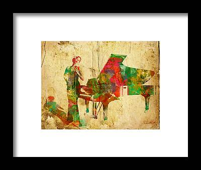 Steinway Grand Piano Framed Prints