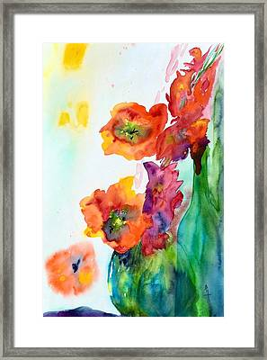 Sing Out Framed Print by Beverley Harper Tinsley