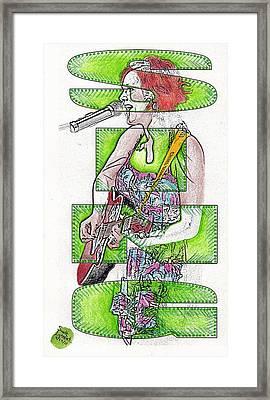 Sing Framed Print by Scott Lightfoot