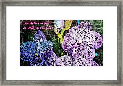Sing Unto Him A New Song Framed Print