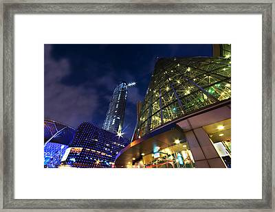 Singapore Shopping Paradise Framed Print by Ng Hock How