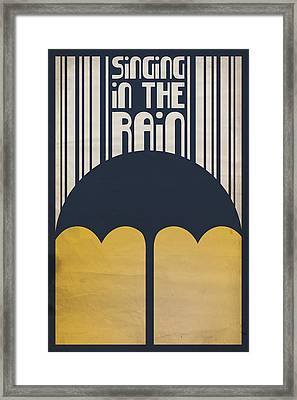 Singin' In The Rain Framed Print by Megan Romo