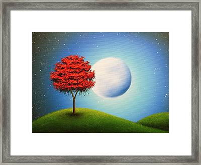 Singing The Night Framed Print by Rachel Bingaman