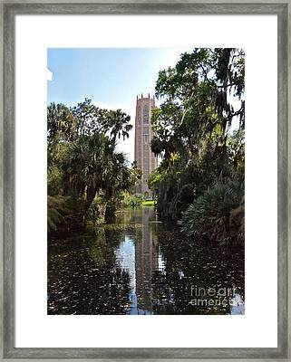Singing Tower Reflection Framed Print