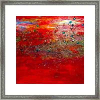 Singing With Passion Framed Print
