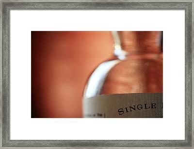 Single Framed Print by Amanda Barcon