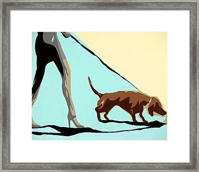 Single Lady Framed Print by Slade Roberts