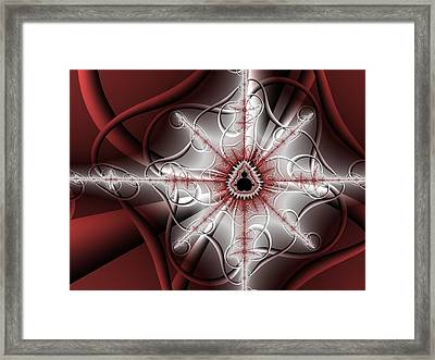 Singularity Framed Print by David April