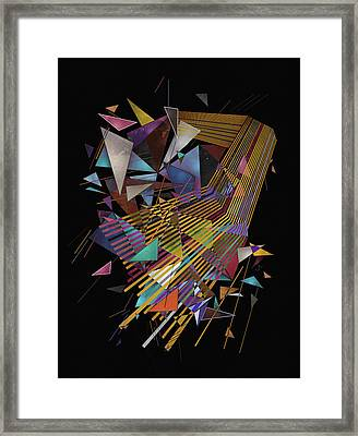 Singularity Framed Print by Francisco Valle