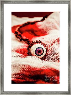 Sinister Sight Framed Print