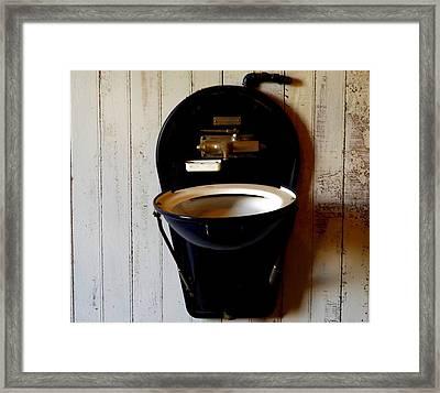 Sink Framed Print