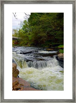 Sinkhole To The Unknown Framed Print by Billie Steer
