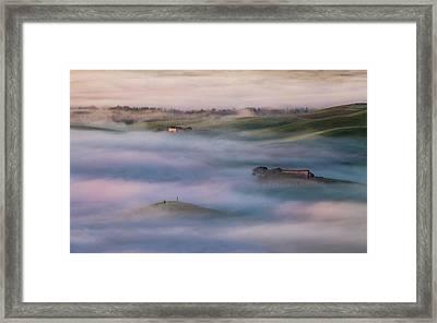 Sinking Framed Print by Peter Svoboda
