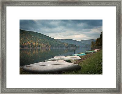 Framed Print featuring the photograph Sinnemahoning State Park by Cindy Lark Hartman
